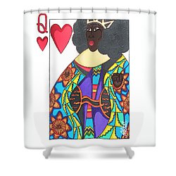 Love Queen Shower Curtain