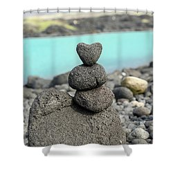 Rock My World Shower Curtain