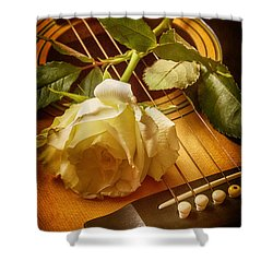 Love Song In The Making Shower Curtain by Swank Photography