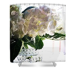 Love These Flowers! #happylaborday Shower Curtain by Jennifer Beaudet