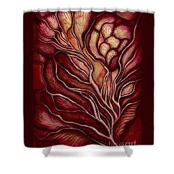 Love Under The Manzanita Shower Curtain