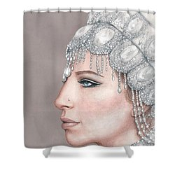 Love With All The Trimmings Shower Curtain by Bruce Lennon