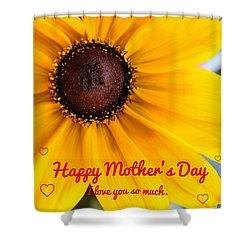 Love You Mama Shower Curtain