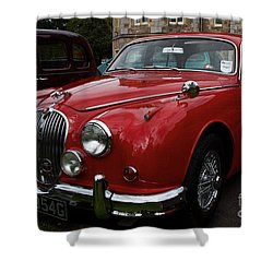 Shower Curtain featuring the photograph Love Yourjag by Gary Bridger