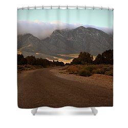 Lovel Canyon Road Shower Curtain