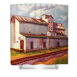 Loveland Feed And Grain Mill Shower Curtain