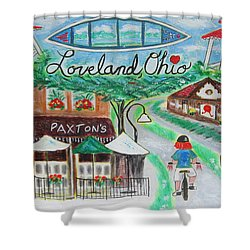 Loveland Ohio Shower Curtain by Diane Pape