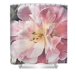Loveliness Flower Shower Curtain