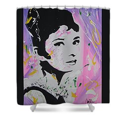 Lovely Audrey Shower Curtain