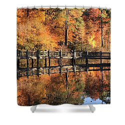 Lovely Autumn Day Shower Curtain