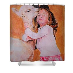 Sensitivity. Shower Curtain
