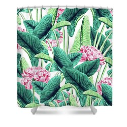 Lovely Botanical Shower Curtain