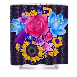 Lovely Bouquet Shower Curtain