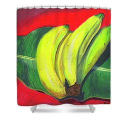 Lovely Bunch Of Bananas Shower Curtain