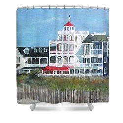 Lovely Cape May Shower Curtain
