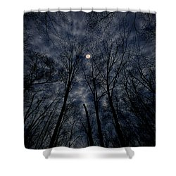 Shower Curtain featuring the photograph Lovely Dark And Deep by Robert Geary