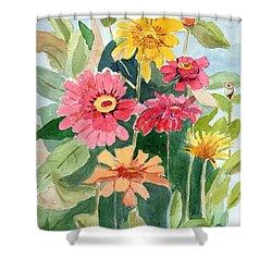 Lovely Flowers Shower Curtain
