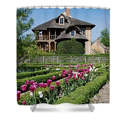 Lovely Garden And Cottage Shower Curtain by Jennifer Lyon