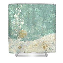 Lovely Shower Curtain by Kristen Abrahamson