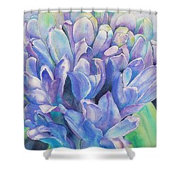 Lovely Lupine Shower Curtain
