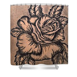 Lovely Rose Shower Curtain