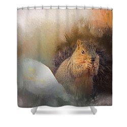Lovely Sibyl Shower Curtain