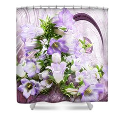 Lovely Spring Flowers Shower Curtain by Gabriella Weninger - David