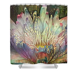 Lovely Waterlilies 6 Shower Curtain