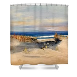 Lover's Key Shower Curtain