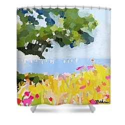 Lover's Lane, Rockport, Ma Shower Curtain