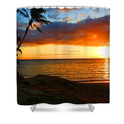 Lovers Paradise Shower Curtain