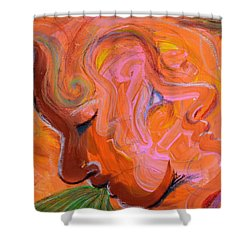 Lovers Quarrel Shower Curtain