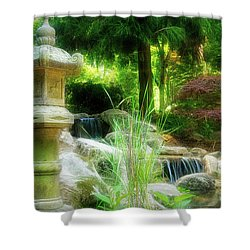 Loves Garden Shower Curtain