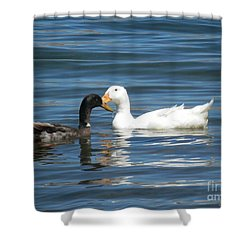 Loves Simple Way Shower Curtain