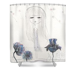 Loving Hart Shower Curtain