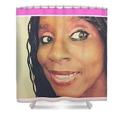 Loving My Beauty Shower Curtain
