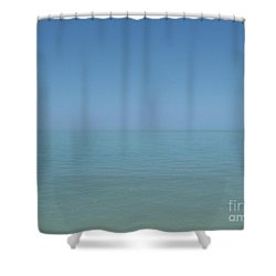 Loving Union Of Sky And Ocean Shower Curtain