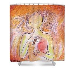 Loving Your Inner Child Shower Curtain