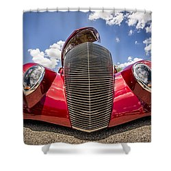Low And Cool Shower Curtain