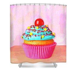 Low Calorie Shower Curtain