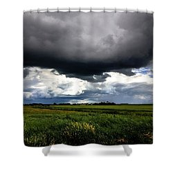 Low Cloud Shower Curtain