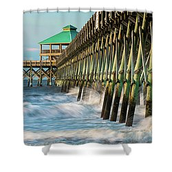 Low Country Landmark Shower Curtain