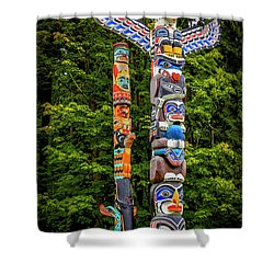 Low Man Shower Curtain
