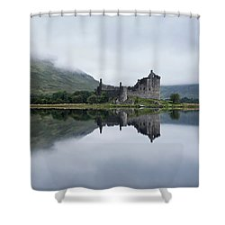 Low Mist At Kilchurn Shower Curtain