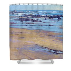 Low Tide / Crystal Cove Shower Curtain