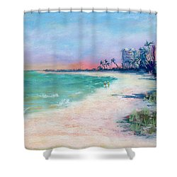 Lowdermilk Park North Shower Curtain by Laurie Paci