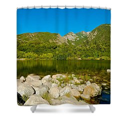 Lower Bells Canyon Reservoir Shower Curtain