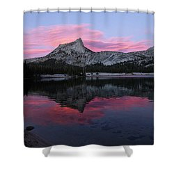 Lower Cathedral Lake Sunset Shower Curtain