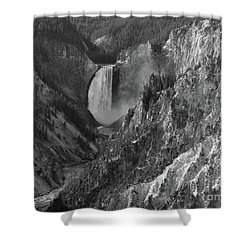 Lower Falls Shower Curtain by Sheila Ping