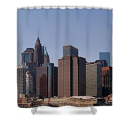 Lower Manhattan Nyc #2 Shower Curtain